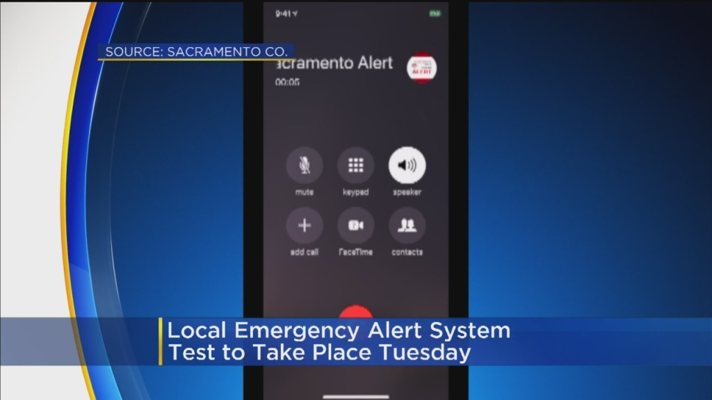 California Agencies Testing Emergency Alert System Tuesday