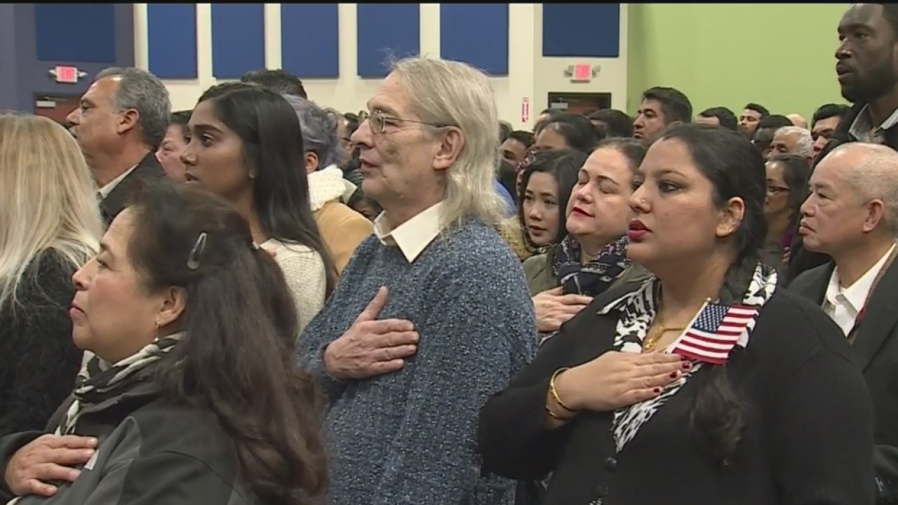 More Than 600 Immigrants Became Citizens In Sacramento Wednesday